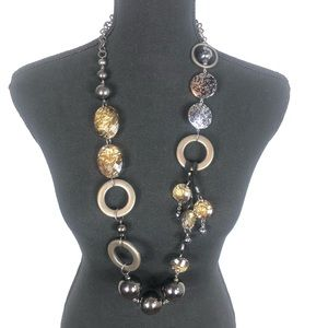 Chunky long necklace